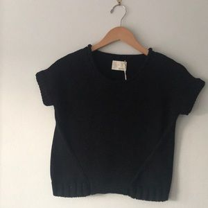 Band of Outsiders Crop Sweater